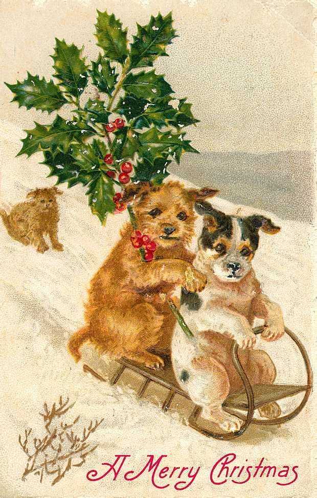 Beautiful Vintage Christmas Cards - What Will Matter