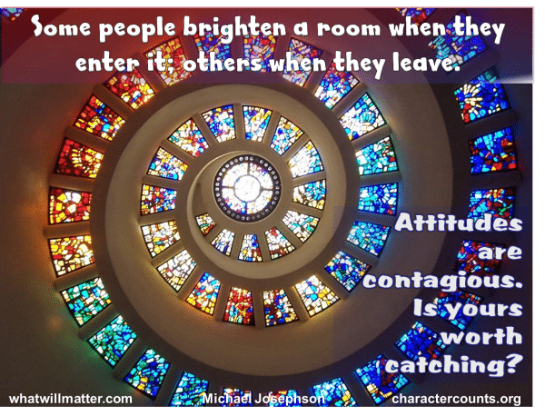 "OBSERVATION: ""Some People Brighten A Room When They Enter"
