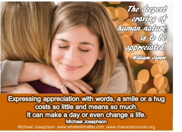 "WORTH SEEING: Poster – Gratitude & Appreciation. ""The deepest ..."