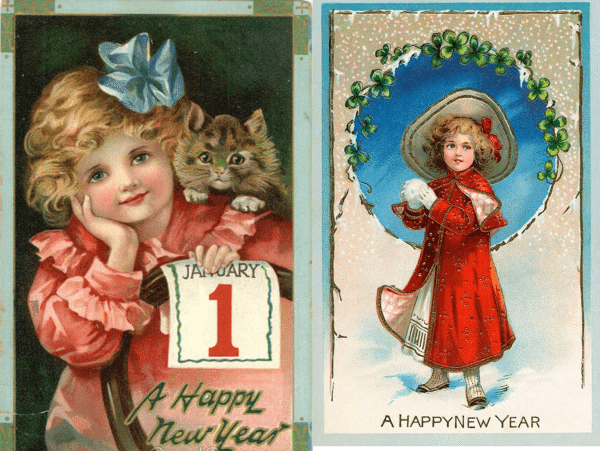 New Years Cards 10 and 11