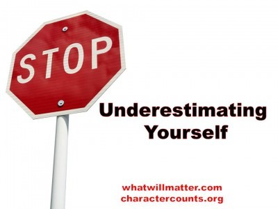 Post image for QUOTE & POSTER: Stop Underestimating Yourself
