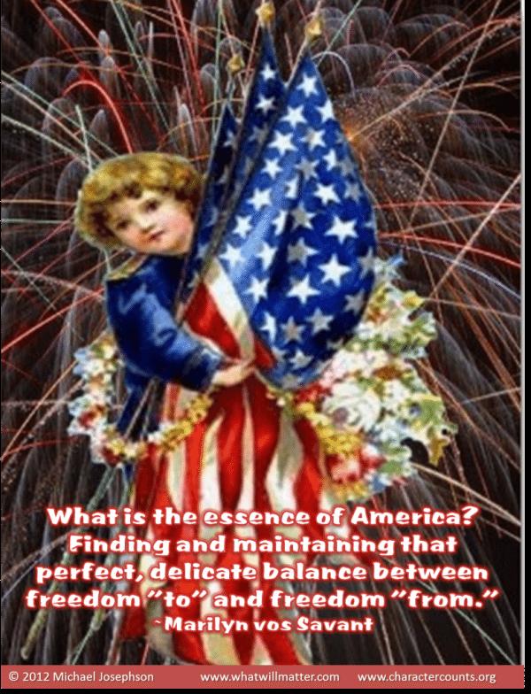 4th of July Essense of America