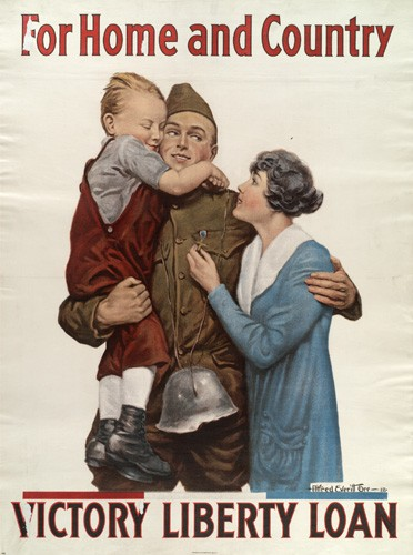 Patriotic Poster WW1_War_Bonds-2