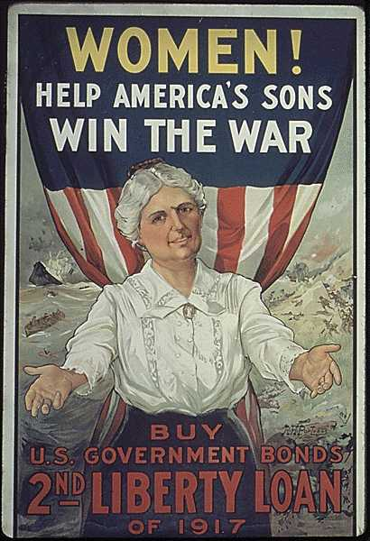 Patriotic Poster WW1_War_Bonds