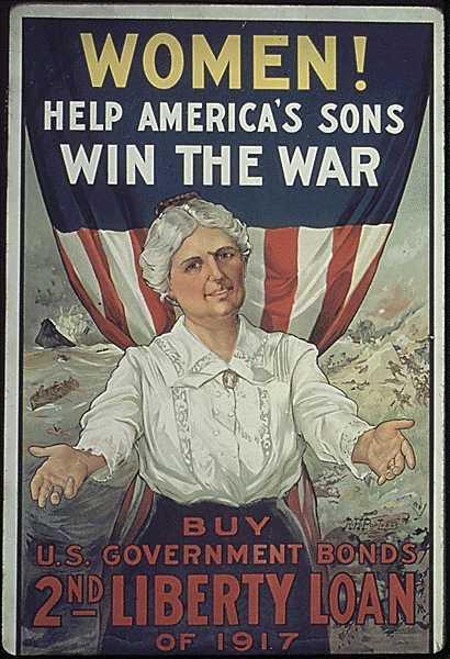 Patriotic Poster WW1_War_Bonds