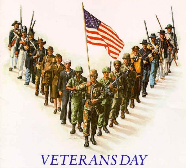 Veterans Day thru ages