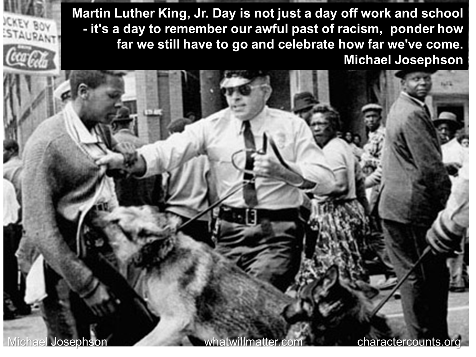 MLK Day to remember