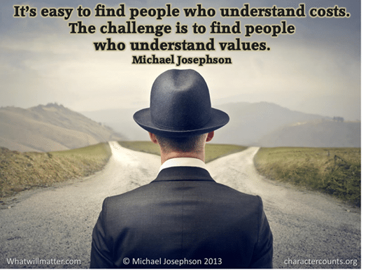 Poster - find people who understand values