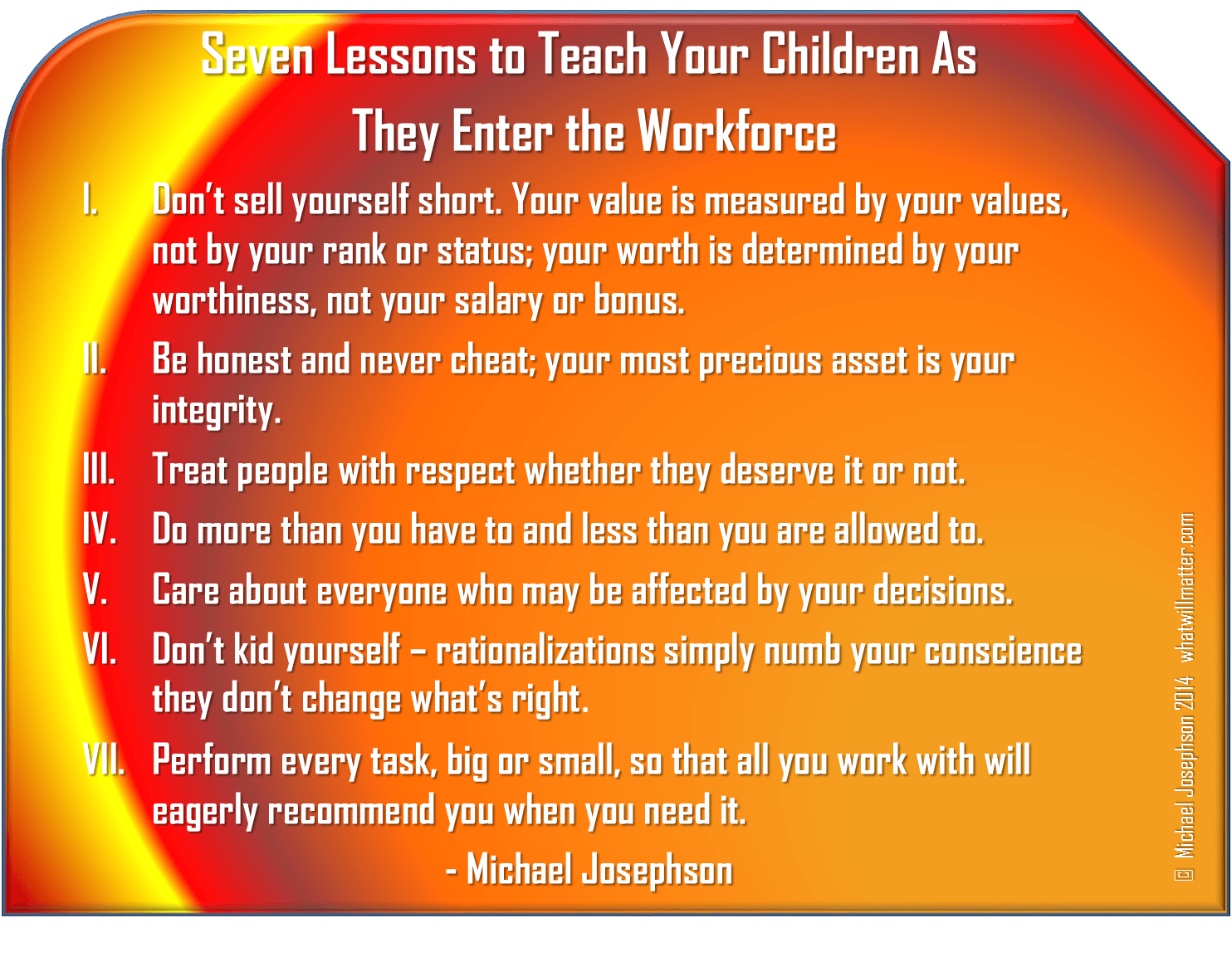 1 Business - 7 lessons for child