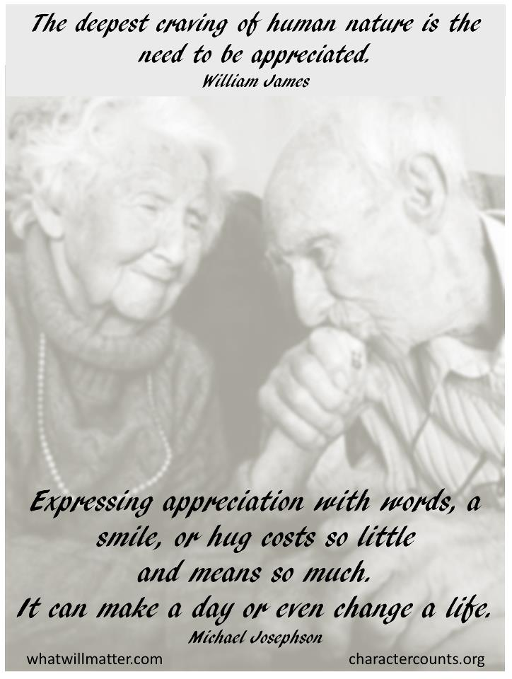 ... Appreciation   Deepest Craving Old Couple