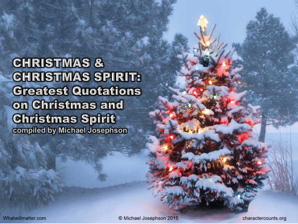 Best Ever Quotes on Christmas & the Christmas Spirit – What ...