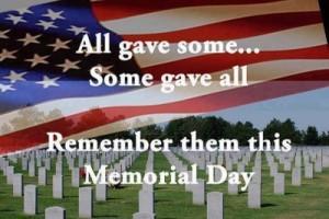 ) Memorial Day 1