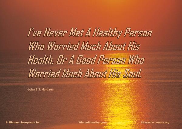 01 healthy person