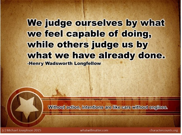 01 judge ourselves