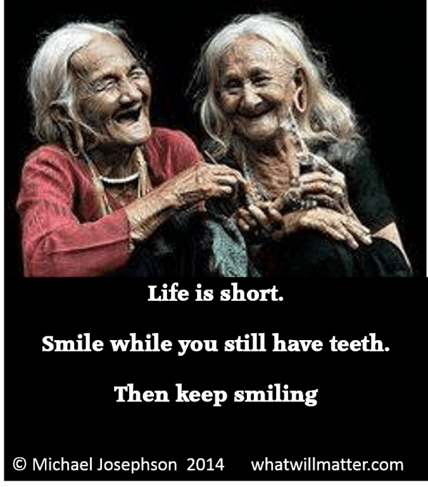 1 Life is short - smile
