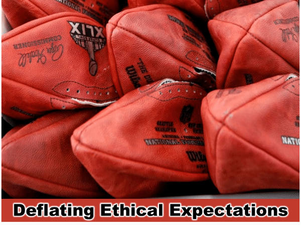 Brady case - deflating ethical expectations