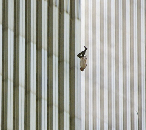 Historic moments - 9-11 falling man