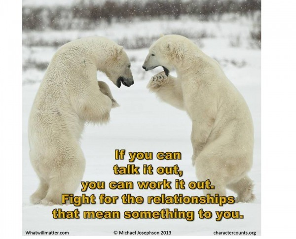 Relationships - fight for
