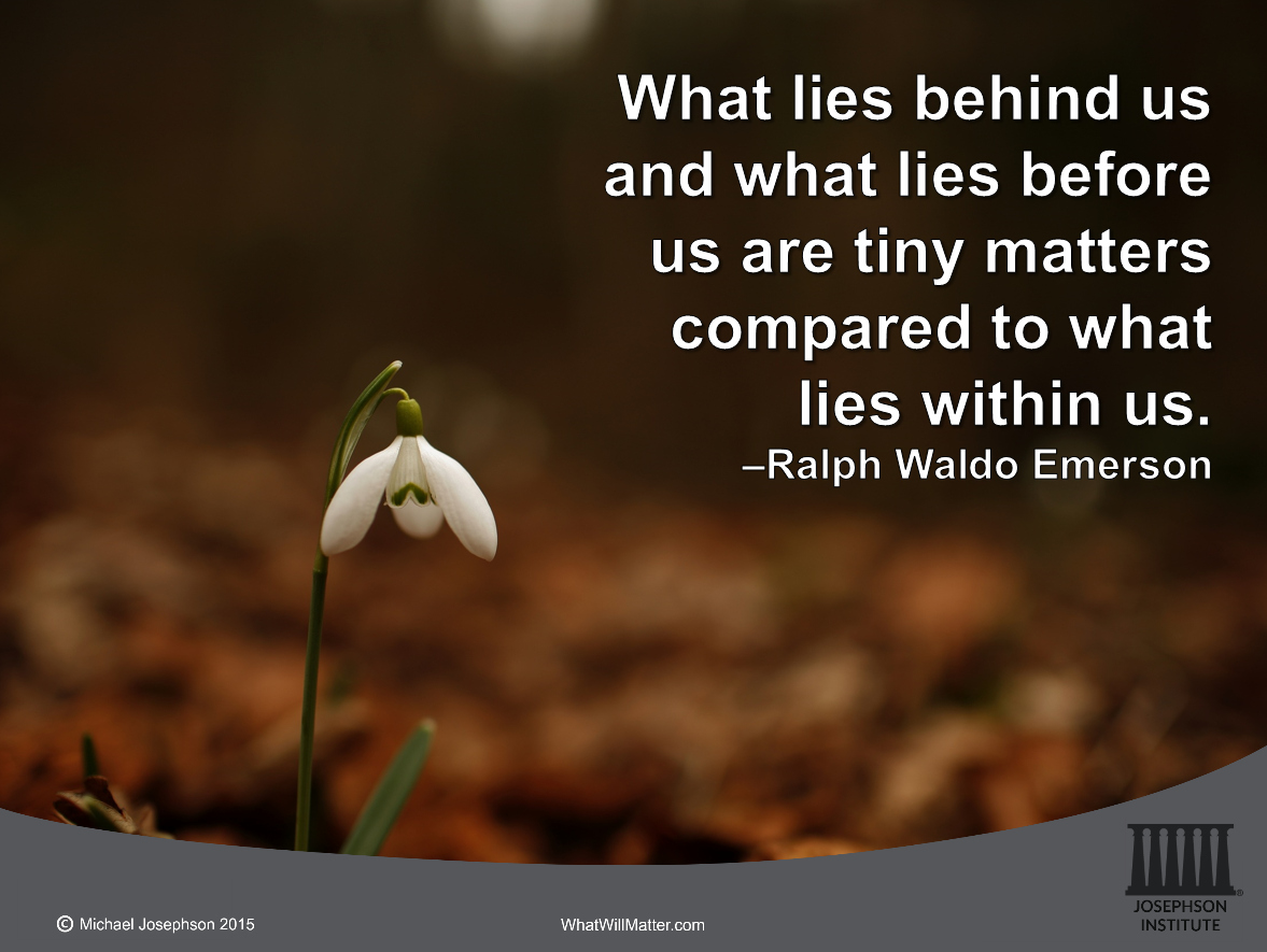 essay on what lies before us ralph waldo emerson