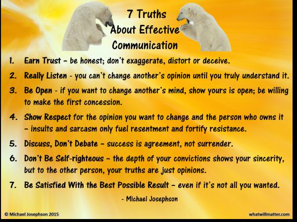 0 Communication - truths