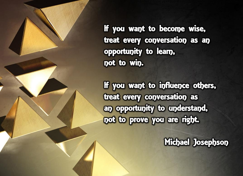 00 Wisdom - learn not win