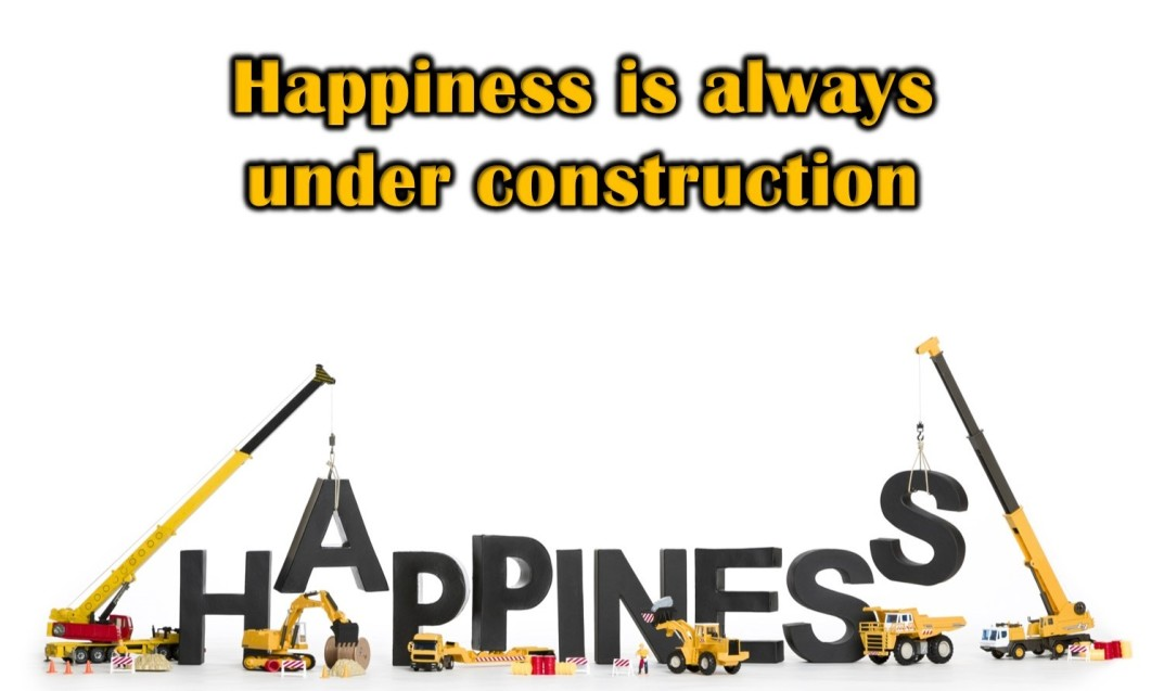 Happiness - always under construction