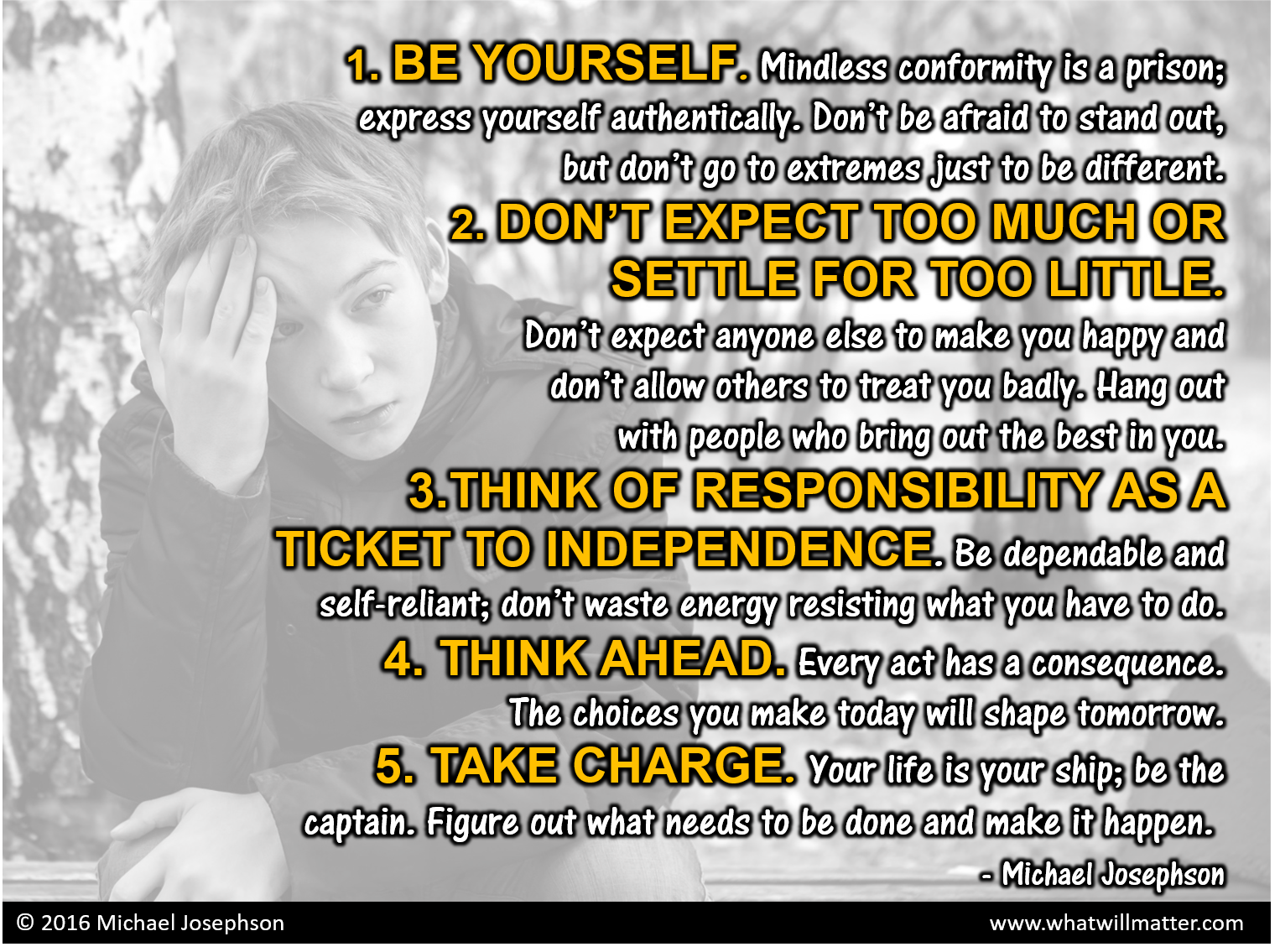 00 5 rules for teens