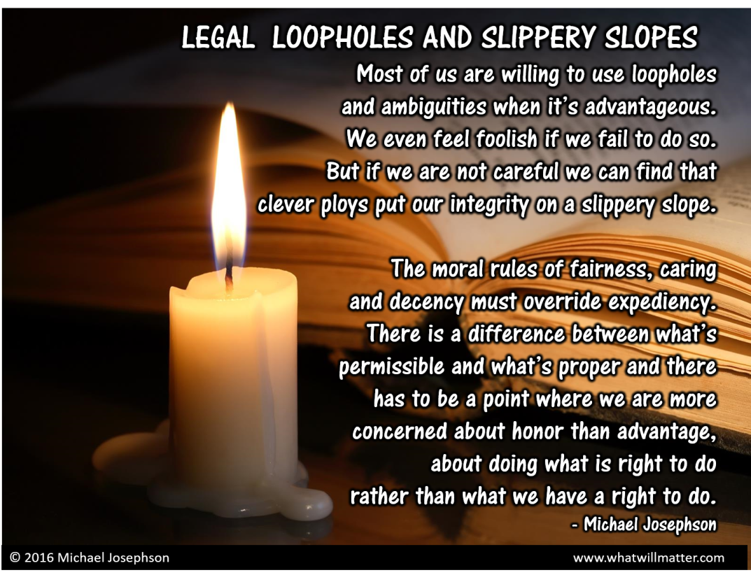 00 Legal loopholes