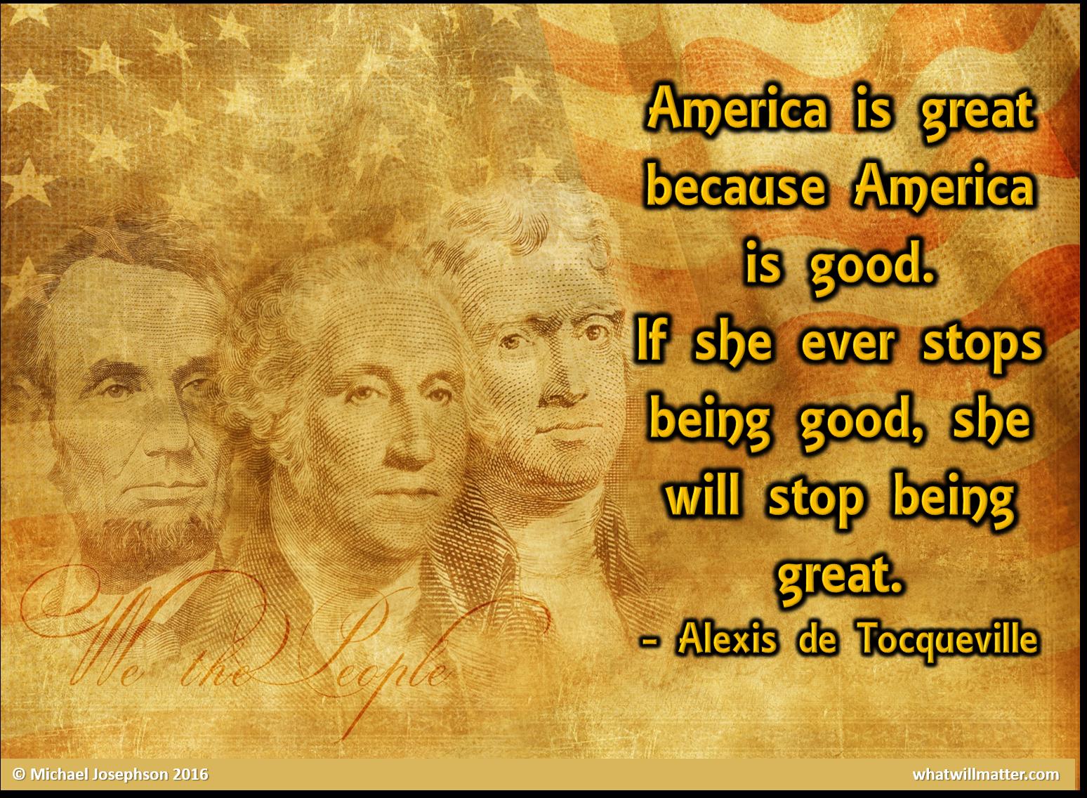 00 Patriotism - America is great