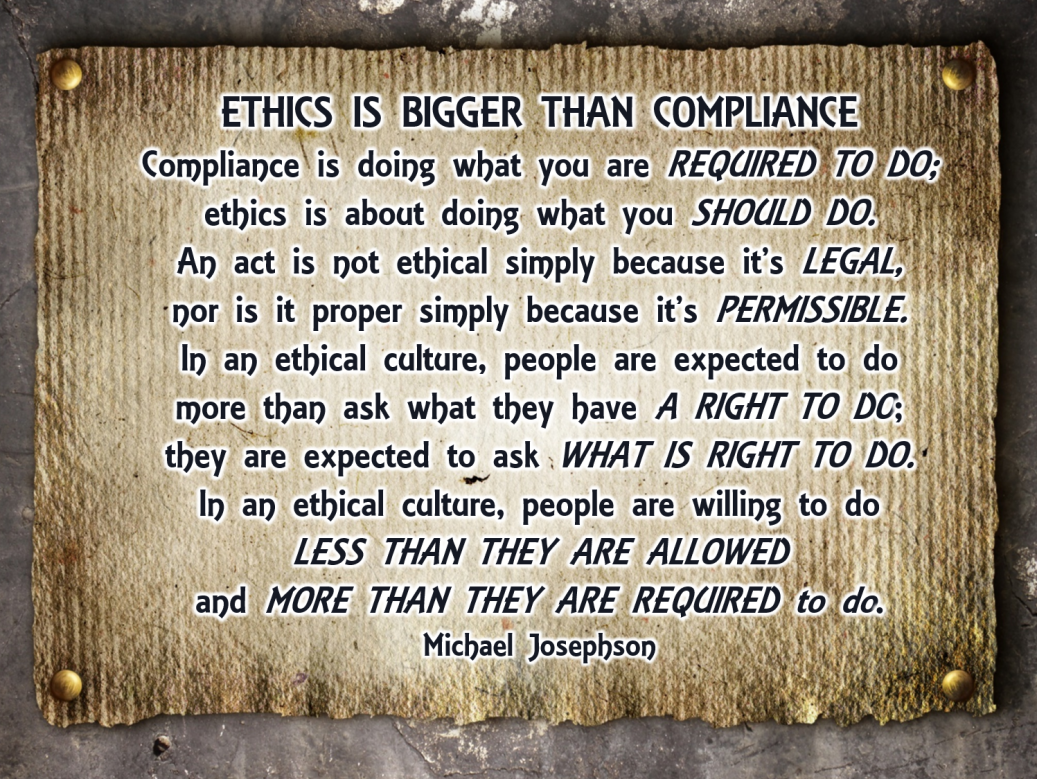 00 Ethics bigger than compliance 2
