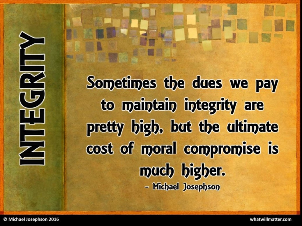 COMMENTARY:The Nature and Importance of Integrity - What ...