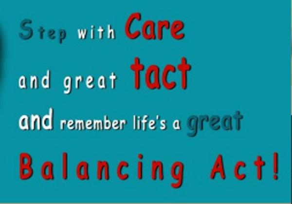 Communication - Dr Seuss balancing act