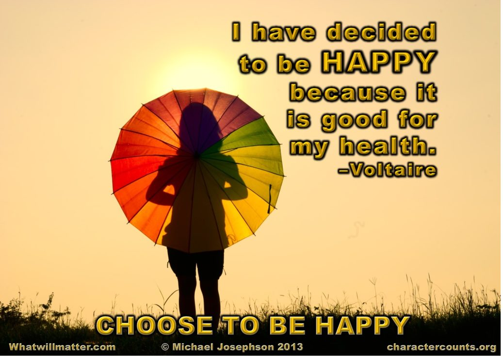 Happiness - good for your health
