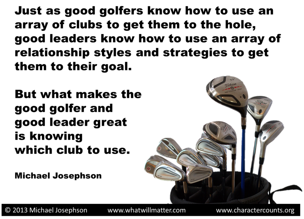LEADERSHIP - golf