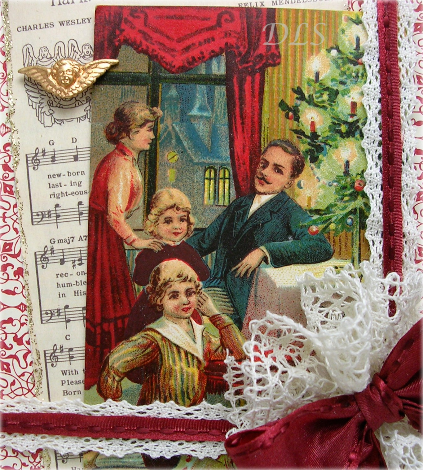 beautiful vintage christmas cards  what will matter