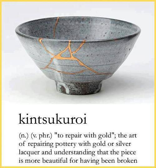 Kintsukuroi: The Art of Repairing