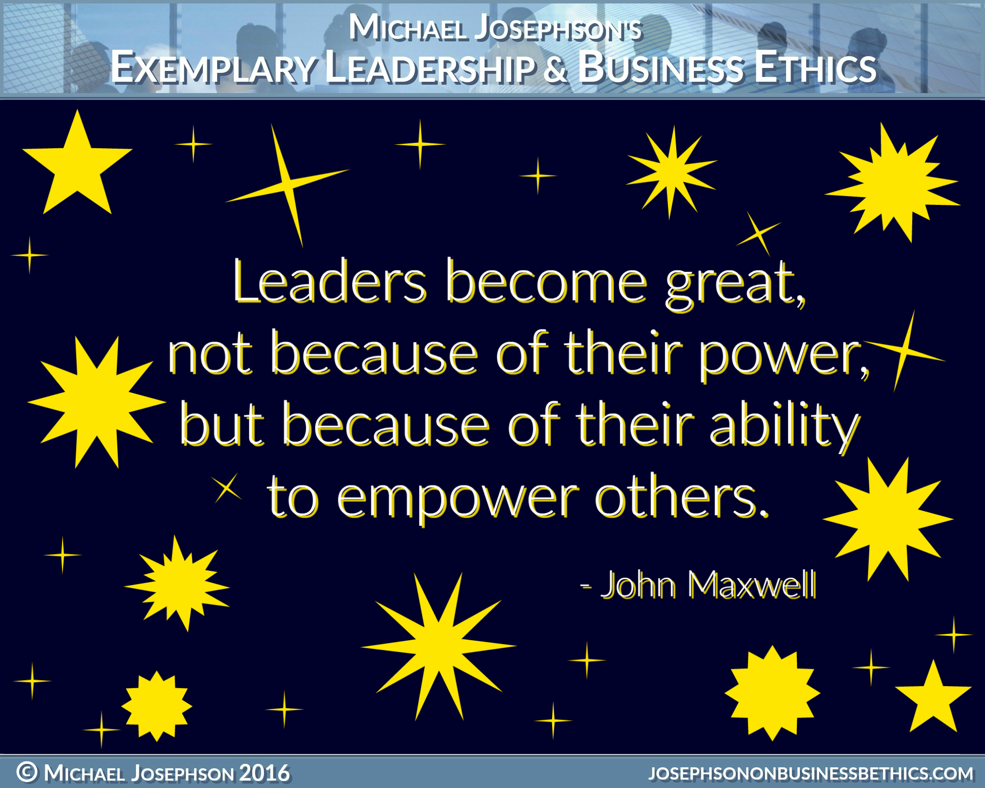 exemplary leadership truly matters