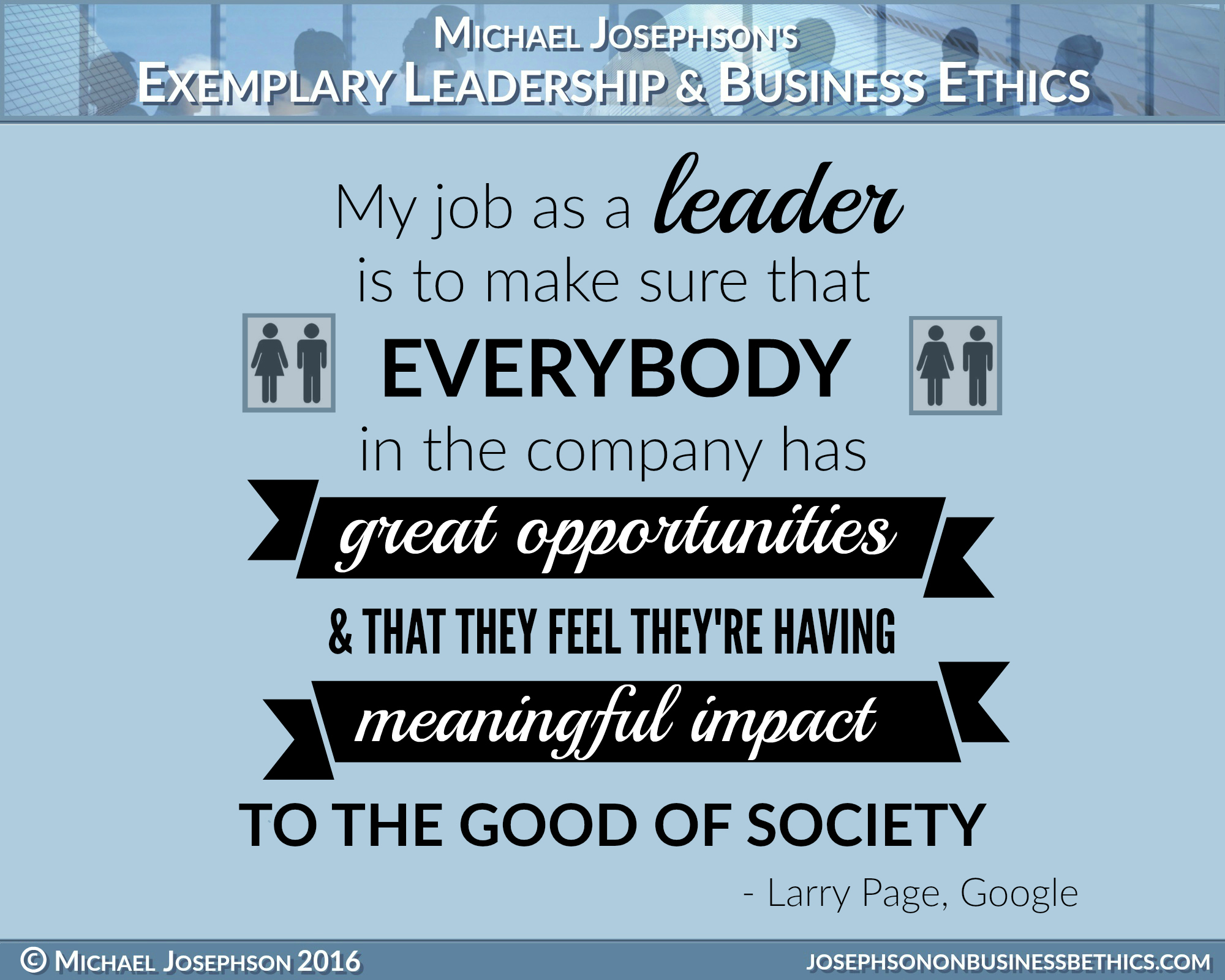 Best Ever Poster Quotes On Leadership Exemplary Business Ethics Leadership